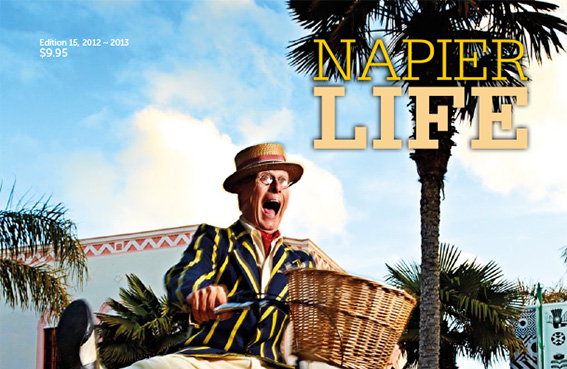 """""""Napier Life"""" - promoting Napier to people who already live here..."""